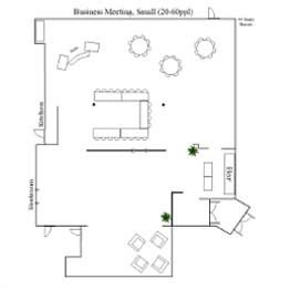 Business Meeting Small Floor Plan