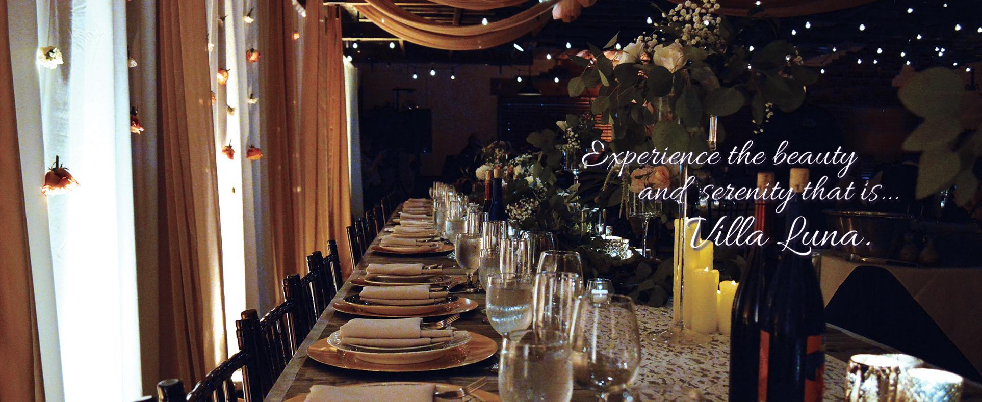 Villa Luna Venue A Venue By Blue Moon Caterers Wichita Ks
