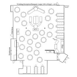 Wedding Reception Banquet Floor Plan 2