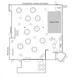 Cocktail Medium Floor Plan 1