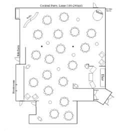 Cocktail Large Floor Plan 1